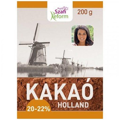 SZAFI R. Zsírszegény holland kakaópor 20-22% 200g