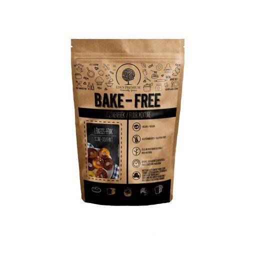 BAKE-Free Laktóz- és gluténmentes lángos-fánk lisztkeverék, 1000 g