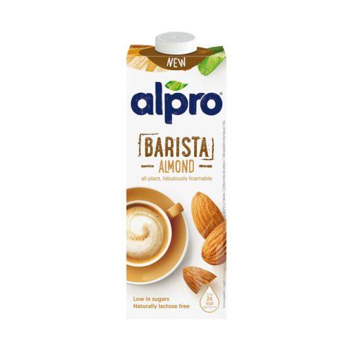 Alpro Mandulaital, barista, 1 liter