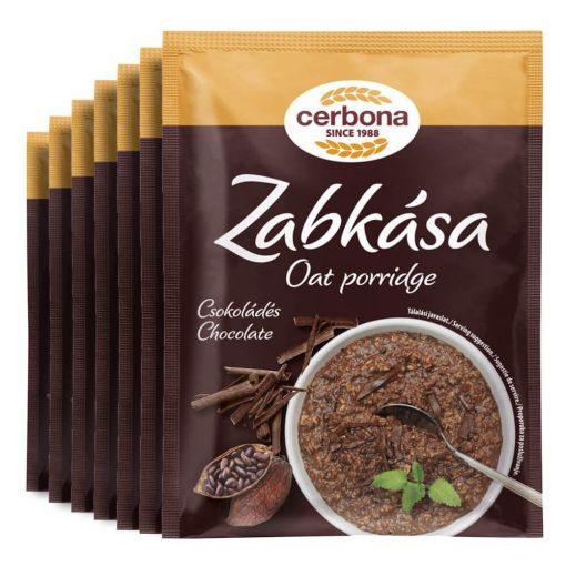 Cerbona Csokoládés zabkása - Heti csomag / 7 x 55 g