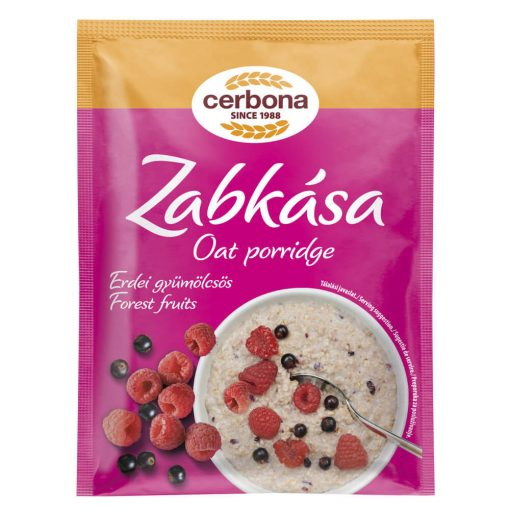 Cerbona Erdei-gyümölcsös zabkása 55 g