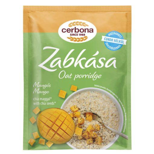 Cerbona Mangós zabkása, hozzáadott cukor nélkül, édesítőszerrel 50 g