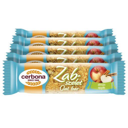Cerbona Almás Zabszelet - Tízórai csomag / 5 x 40 g