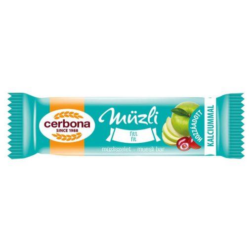 Cerbona Fitt müzliszelet Kalciummal 20 g