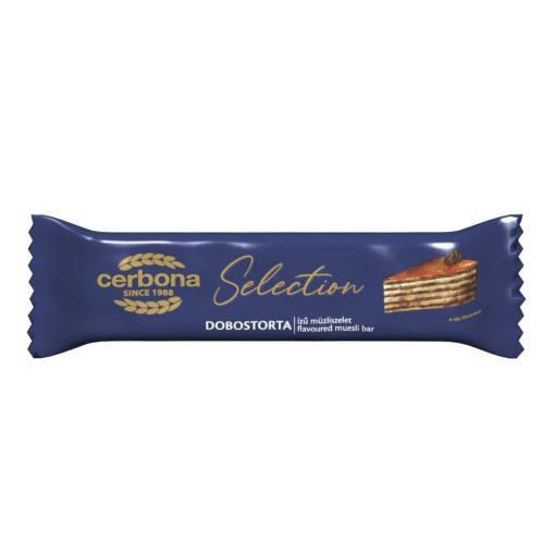 Cerbona Selection Dobostorta ízű müzliszelet 22 g