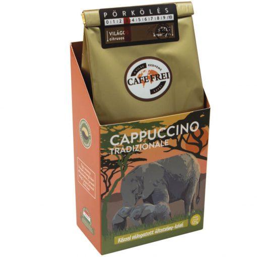 Café Frei, Cappuccino Tradizionale szemeskávé, 125 g