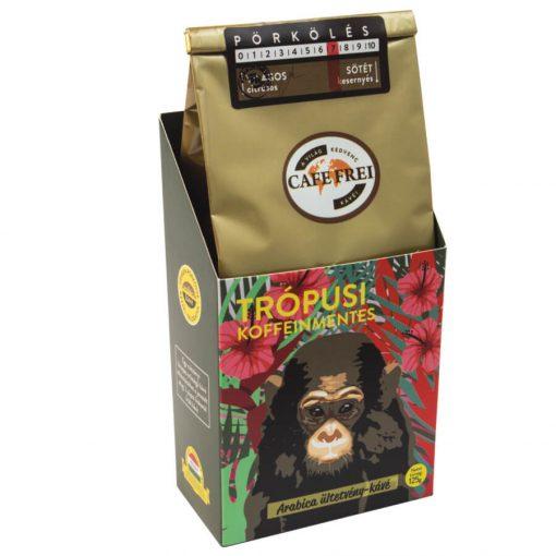 Café Frei, Trópusi koffeinmentes szemeskávé, 125 g