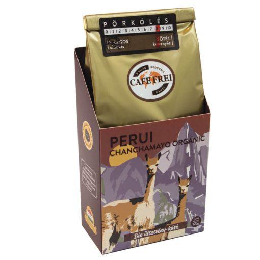 Café Frei, Perui Chancamay Organic Bio ültetvény szemeskávé, 125 g