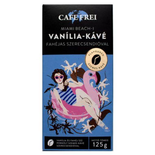Café Frei, Miami Beach Vanília-szemeskávé, 125 g