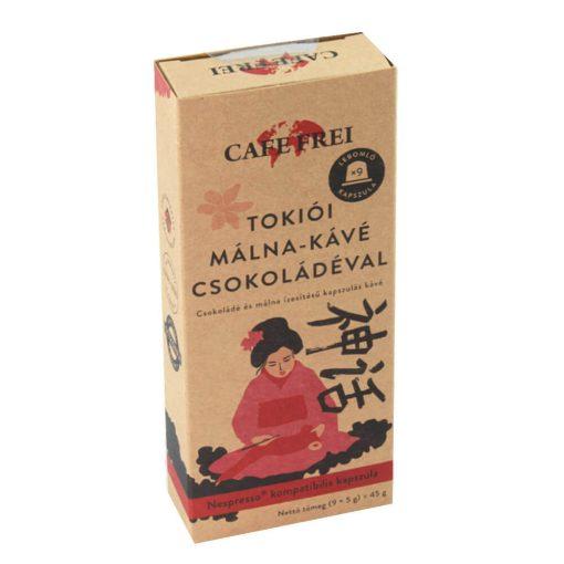 Café Frei, Tokiói málna-kávé, 9 db-os x 5 g = 45 g doboz / Nespresso kompatibilis