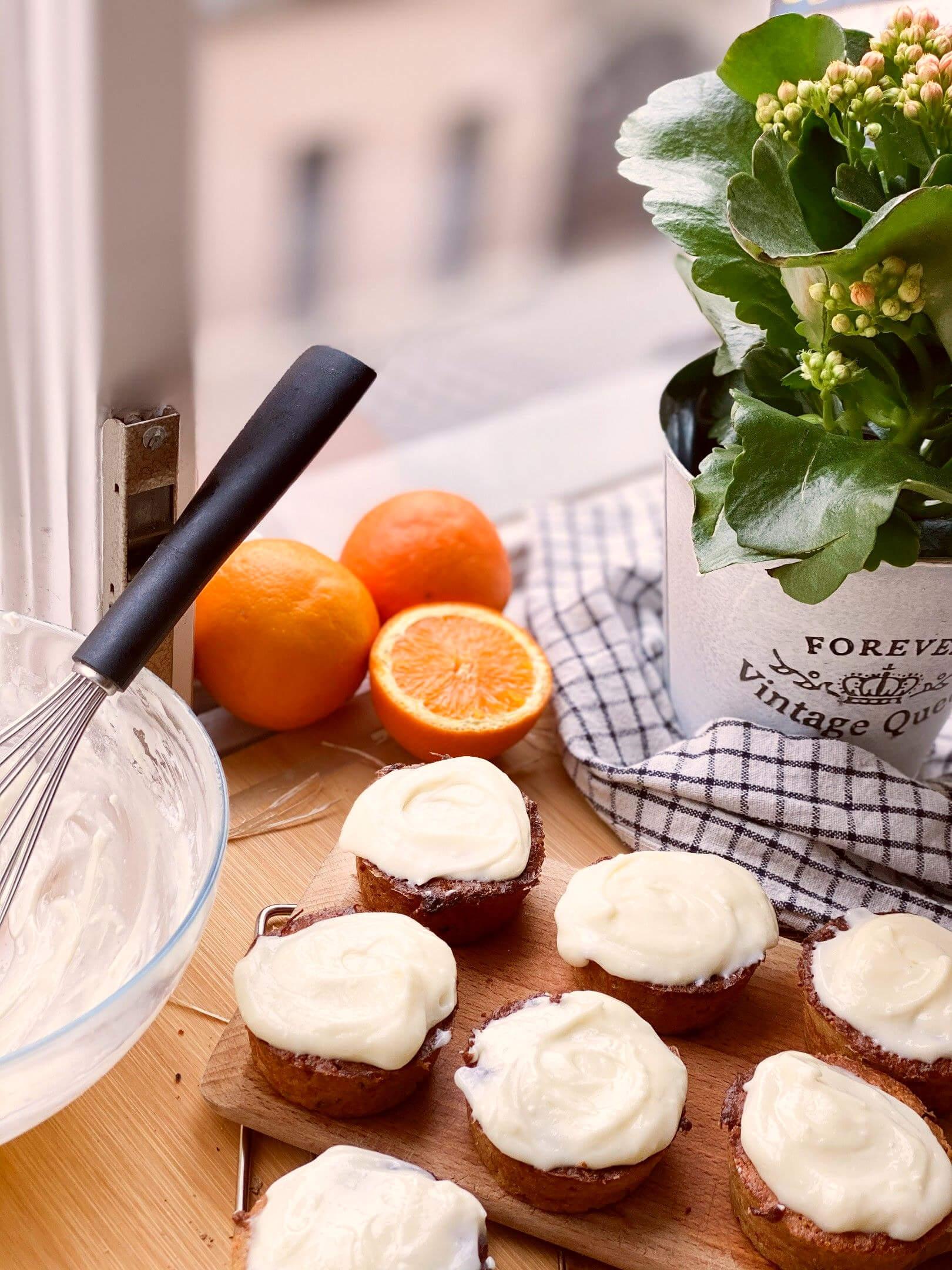 Narancsos, repás muffin
